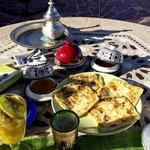 Petit déjeuner - Kasbah Mansour