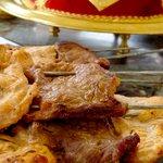 Les plats de la  Kasbah Mansour