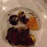 Foie auf Mango