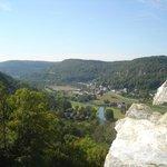 Der Blick nach Westen, Streitberg und Ebermannstadt