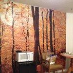 wall of room
