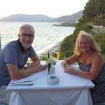 Me and hubby celebrating our 24th wedding anniversary/