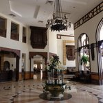 Lobby hotelu w stylu koptyjskim