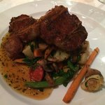 Karoo Lamb Chops with farm fresh vegetables. If it isn't from the Karoo in South Africa - then d