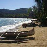 Hotel-Bungalow mit Strandbereich