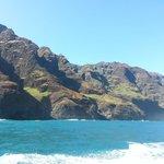 Napali Coast from UFO boat