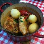 poulet écrevisse