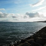 view of Galway bay, just a short walk from Cappa Veagh
