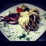 Calamaro grill
