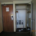 Fair sized closet in our room
