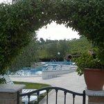 ingresso della piscina
