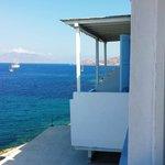 Il Panorama verso Hora (centro di Mykonos)