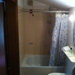doccia (la luce porta è 180cm)