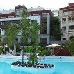 In piscina al Gran Tacande