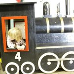 Museum toy train