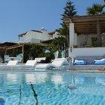 Agalia Pool area