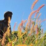 JFK statue outside