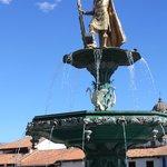 Incan fountain
