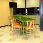 Lobby e sala café