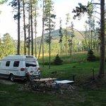 behind campsite 60