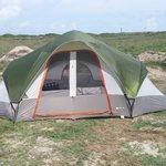 condo mondo tent at beach