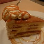 salted caramel vanilla cake
