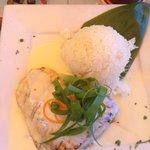Broiled local fish (ahi)