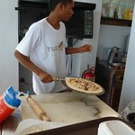 delicious fresh make pizza