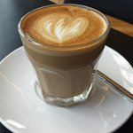 'Flat white from Stable Diet at Wexford Opera House'