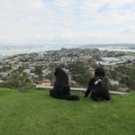 View from Mt Victoria up to Auckland Bridge