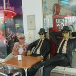 outside the american diner