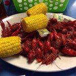 Delicious crawfish boil!
