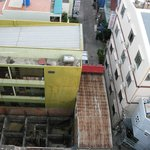 Вид с 7го этажа на соседнюю стройку