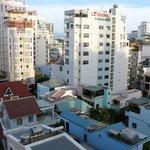 Вид с 7го этажа вглубь Европейского квартала на 2ю линию