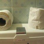 papier toilette inutilisable
