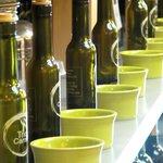 Countless rows of Balsamic Vinaigrette