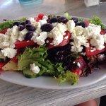 Amazing Cretan salad. Worth its price!
