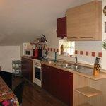 Cucina alloggio