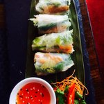 Delicious Mackerel Paper Rice Rolls, love it ... hurry while Summer Special still on this week.