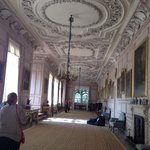 The portrait room, where Elizabeth Bennett in Pride and Prejudice sees Mr. Darcy's portrait. Por