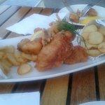 Backfisch,sehr lecker...