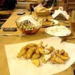 πατάτες με την φλούδα για τους λάτρεις του είδους