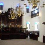 Interior of synagogue