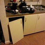 cabinets in poor repair