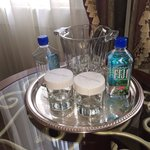 Fiji water in the rooms!