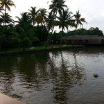 Resort on lake side