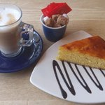 Latte & Lemon Cake - Yummy!!
