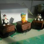 Sylvester & Tweetie Pie cakes from Sextons