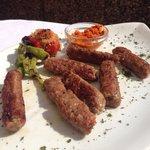 Ćevapi - Grilled meat dumplings