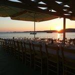 Restaurant on the beach near Arokaria studios